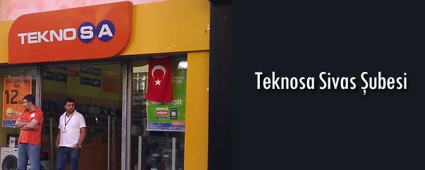 Sivas Teknosa Şubesi Telefon Numarası