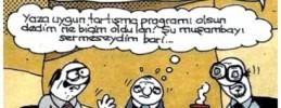 Çay Harareti Alır (Karikatür)