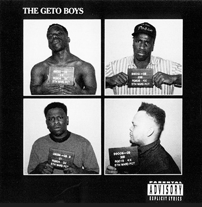 Geto Boys The Geto Boys Album Cover